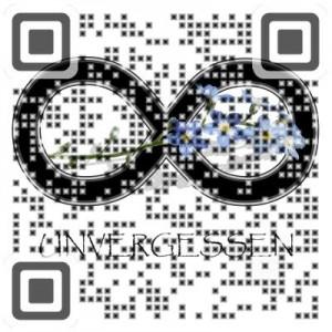 QR Code zum Unvergessen.vcf Download